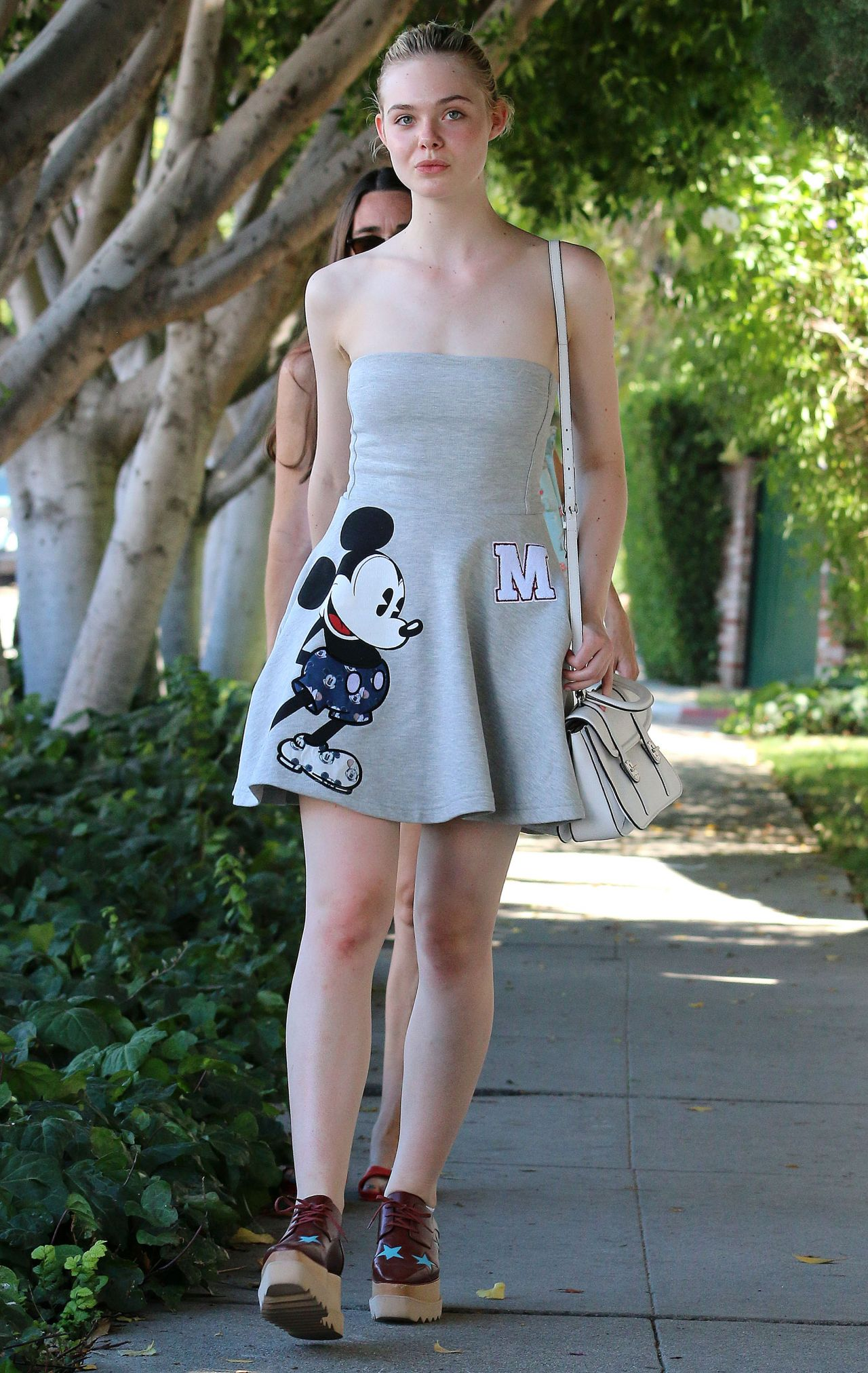 Elle Fanning Summer Style Out In West Hollywood July 2015