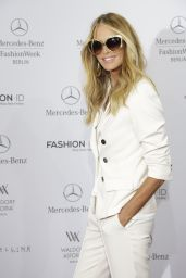 Elle Macpherson - Marc Cain Fashion Show - Mercedes Benz Fashion Week in Berlin - July 2015