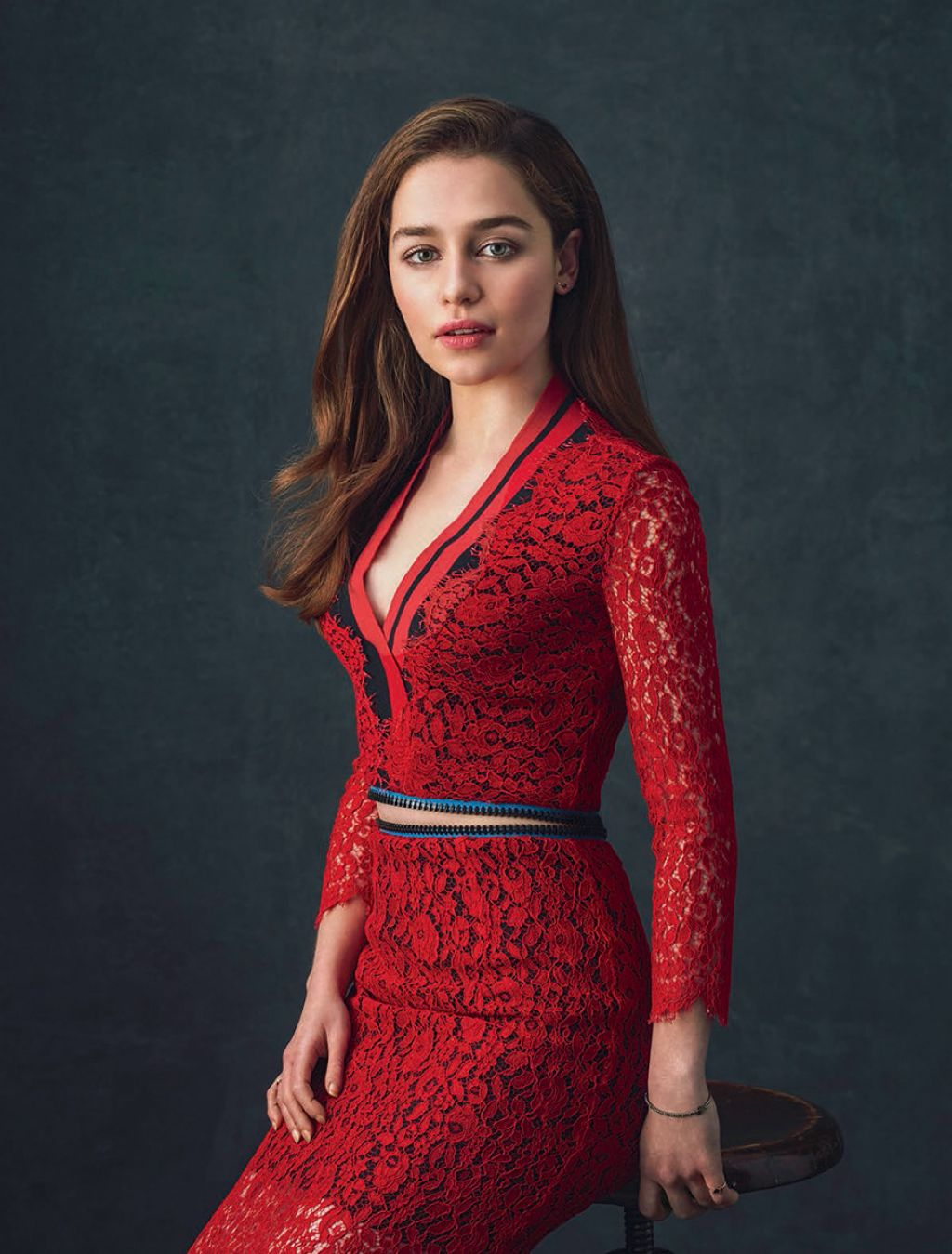 Emilia Clarke Photoshoot For Io Donna Magazine July 2015