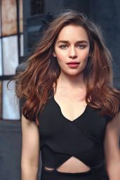 Emilia Clarke -  Photoshoot for IO Donna Magazine July 2015