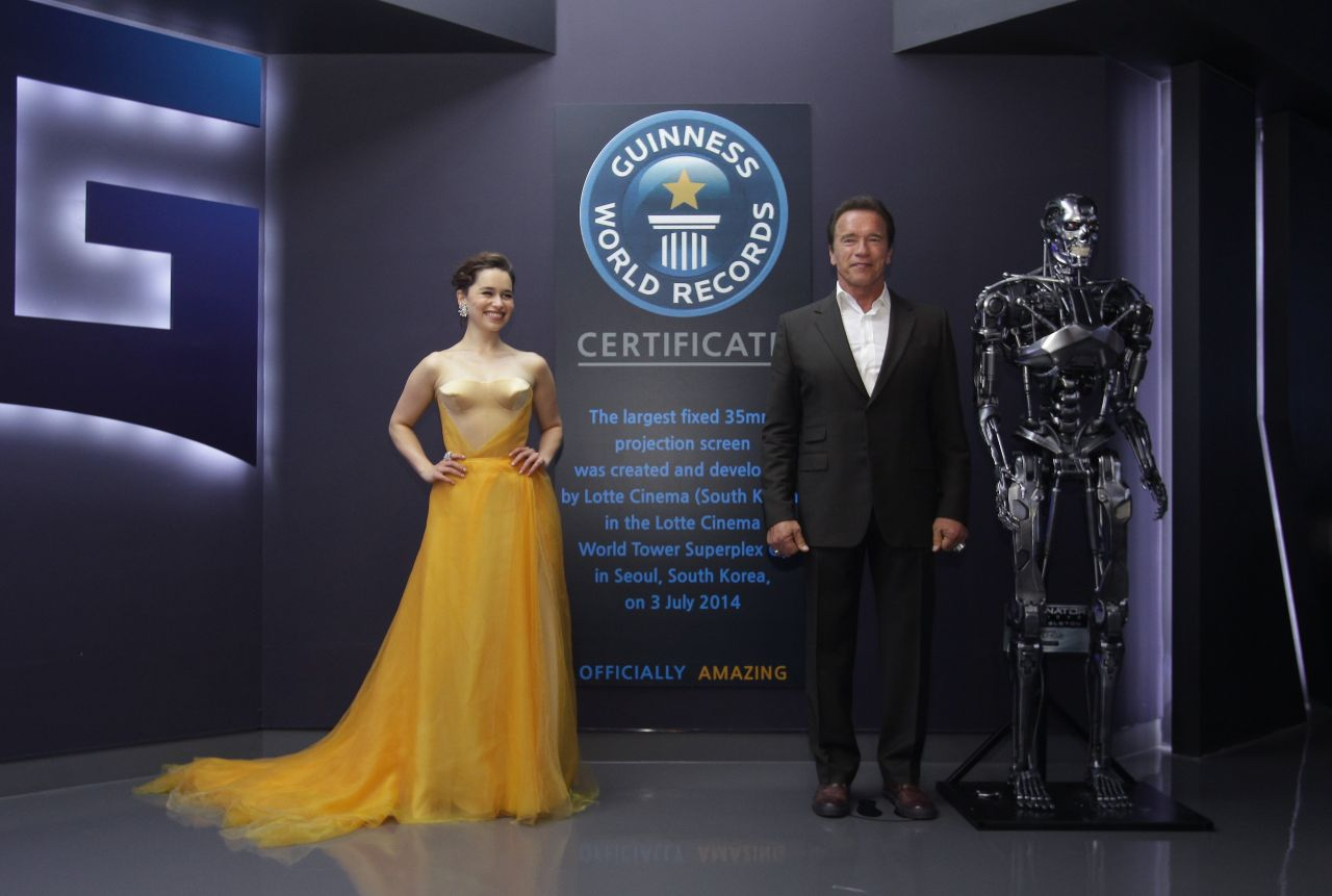 Emilia Clarke - Terminator Genisys Premiere in Seoul ...