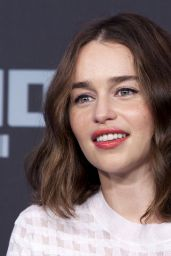 Emilia Clarke - Terminator Genisys Press Conference in Seoul