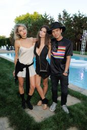 Emily Ratajkowski - REVOLVE Hamptons Kick-Off Party in Sagaponack, New York