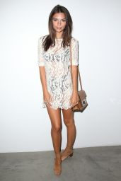 Emily Ratajkowski Style - Desert Voices Photography Exhibition Opening in West Hollywood
