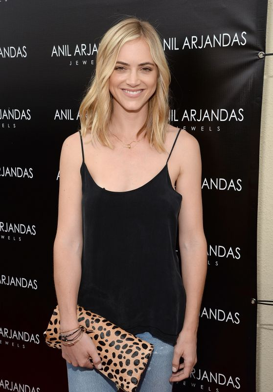Emily Wickersham - Anil Arjandas Jewels US Flagship Store in West Hollywood