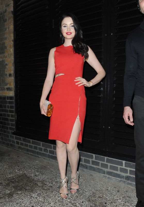Emma Miller Night Out Style - At the Chiltern Firehouse in Marylebone, London