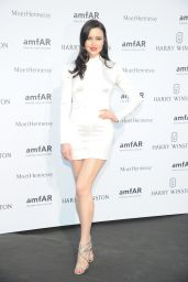 Emma Miller on Red Carpet – amfAR Dinner in Paris, July 2015