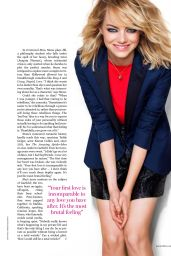 Emma Stone - Marie Claire Magazine Australia August 2015 Issue