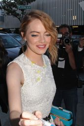 Emma Stone on Red Carpet - Irrational Man Premiere in Los Angeles