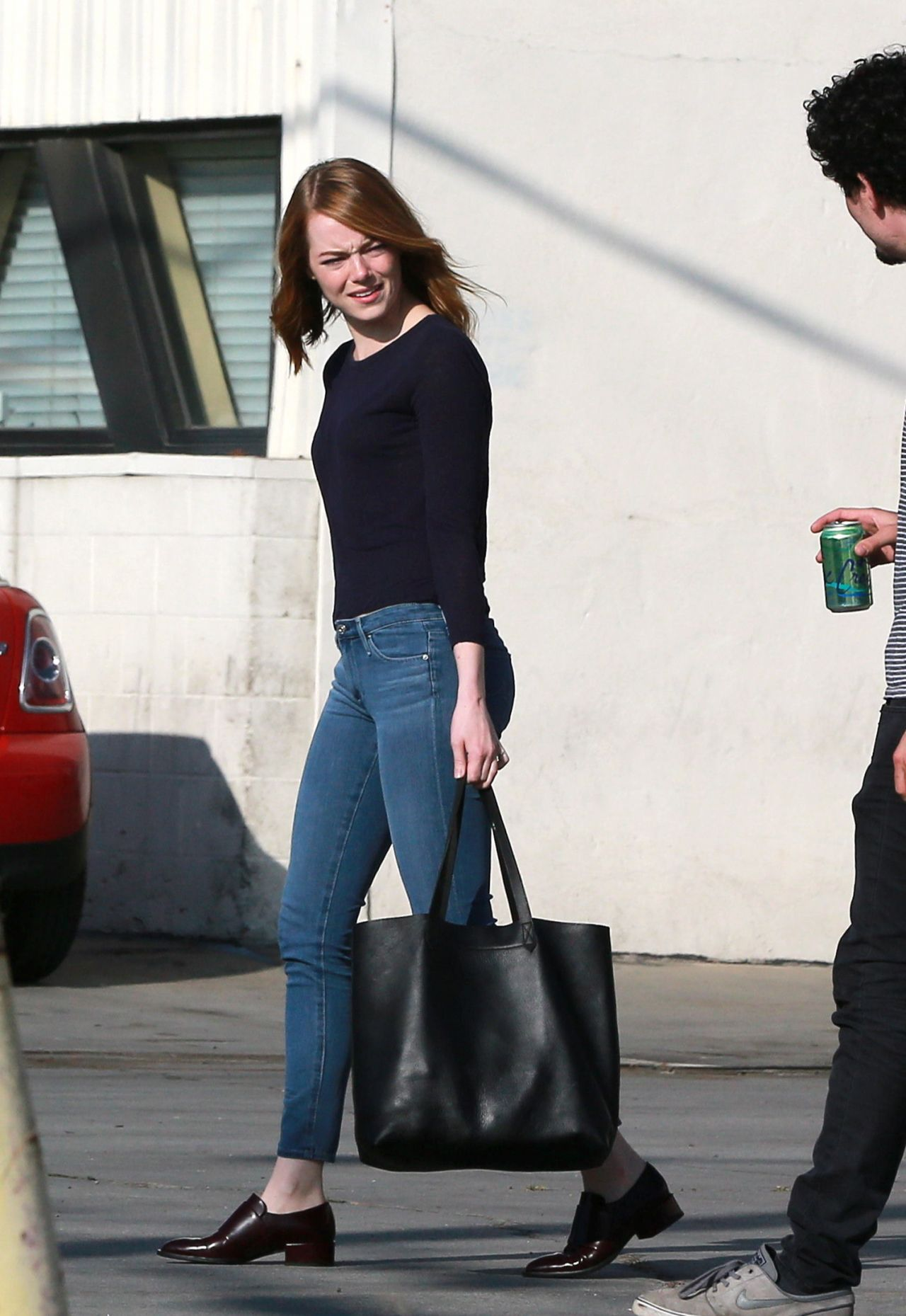 Emma Stone Street Style Out In Los Angeles July 2015