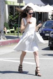 Emmy Rossum Summer Style 2015 - Out and About in Beverly Hills