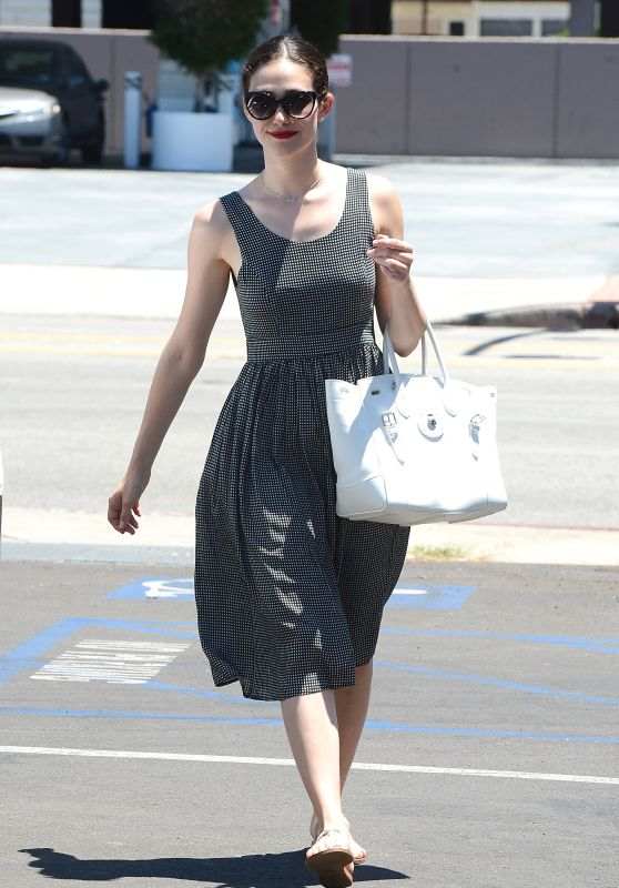 Emmy Rossum Summer Style - Out in Thousand Oaks, July 2015