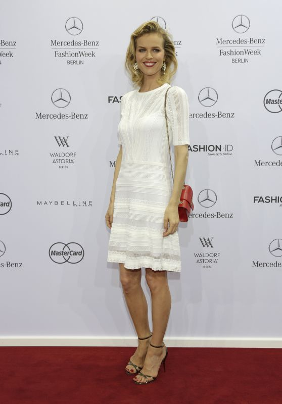 Eva Herzigova - Marc Cain Fashion Show - Mercedes Benz Fashion Week in Berlin - July 2015
