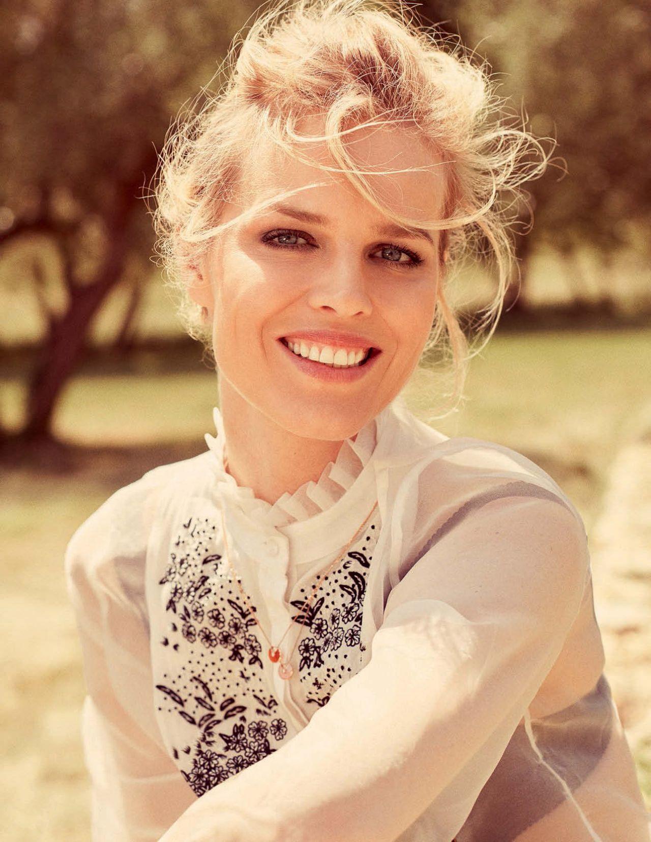 Eva Herzigova Photoshoot For Elle Magazine Italia August