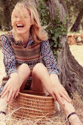 Eva Herzigova - Photoshoot for Elle Magazine Italia August 2015