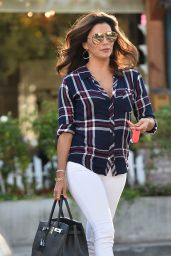 Eva Longoria Casual Style - Leaves Ken Paves Salon, July 2015