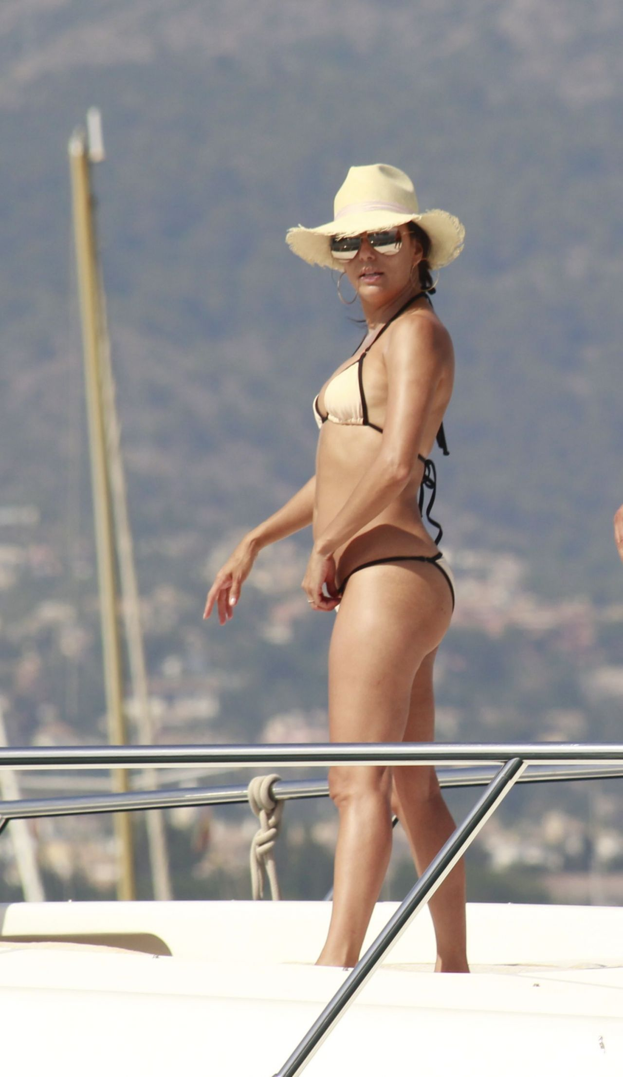 Eva Longoria Amp Eva La Rue Bikini Candids Marbella Spain