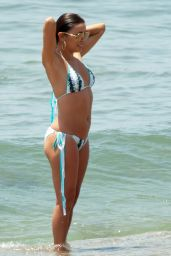 Eva Longoria Hot Bikini Pics - at the Beach in Marbella, July 2015