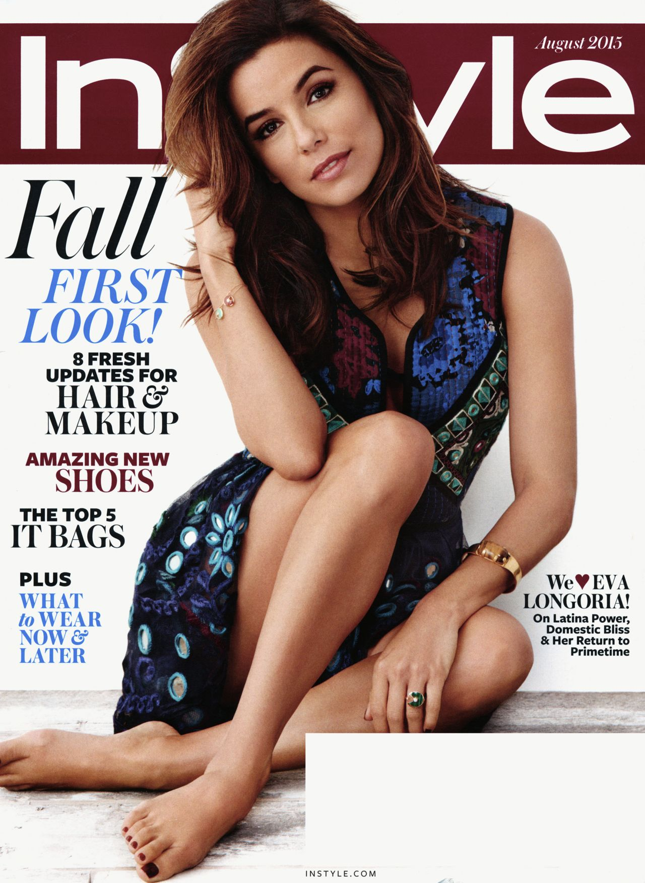 Instyle Magazine Us: InStyle Magazine August 2015 Issue