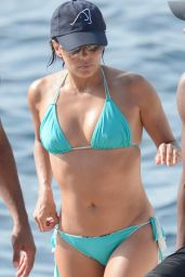 Eva Longoria is Hot in a Bikini in Capri, Italy, July 2015