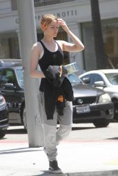 Evan Rachel Wood Street Style - Out in Beverly Hills, July 2015