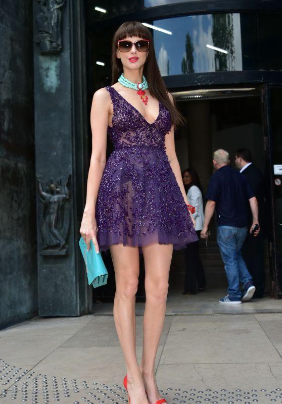 Frédérique Bel - Fashion Week - Zuhair Murad, July 2015