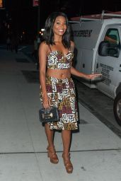 Gabrielle Union Style - Out in New York City, July 2015