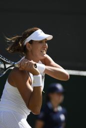 Garbine Muguruza – Wimbledon Tournament 2015 – Quarter Final