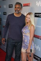 Genevieve Morton – 'Sharknado 3: Oh Hell No!' Premiere at iPic Theaters in Los Angeles