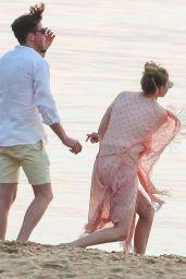 Gigi Hadid at the Beach With Friends - Shelter Island, NY, July 2015