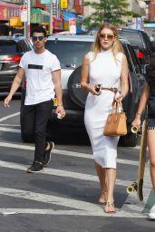 Gigi Hadid Street Fashion - Out in New York City, July 2015