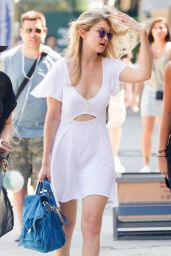 Gigi Hadid Summer Style - Out in NYC, July 2015
