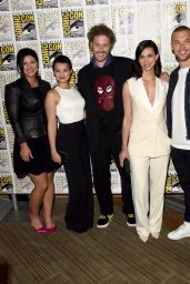Gina Carano - 20th Century Fox Press Line at Comic Con in San Diego, July 2015