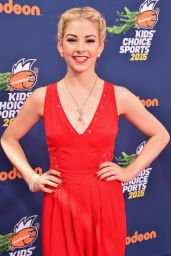 Gracie Gold – 2015 Nickelodeon Kids' Choice Sports Awards in Los Angeles