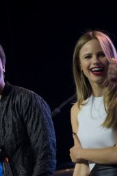 Halston Sage - Get Lost Get Found Tour for Paper Towns Movie in Dallas