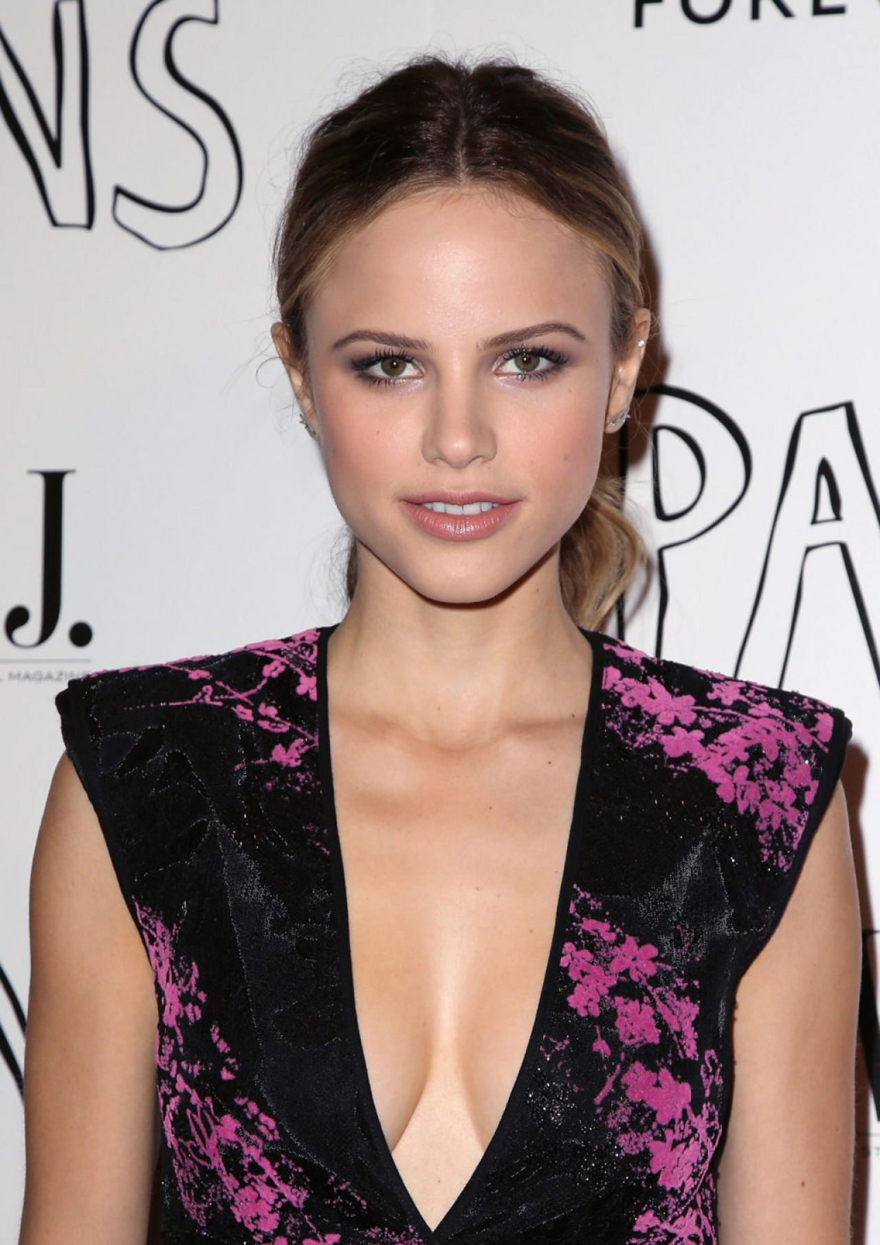 Halston Sage Paper Towns Screening In West Hollywood