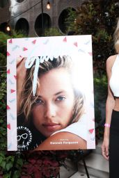 Hannah Ferguson - Galore x G-Shock S Series Summer Bombshell Pool Party in New York City