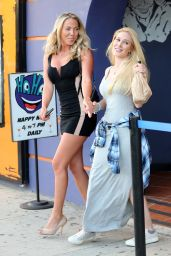 Heidi Montag - Leaving a Comedy Club in Los Angeles, July 2015