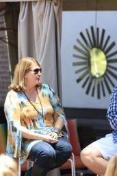 Hilary Duff at Star 94.1 FM in San Diego, July 2015