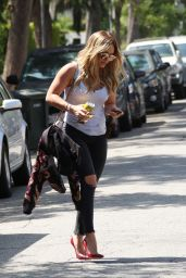 Hilary Duff Casual Style - Out in LA, July 2015