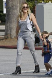 Hilary Duff Casual Style - Out in Studio City, July 2015