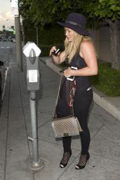 Hilary Duff Casual Style - Out in West Hollywood, July 2015