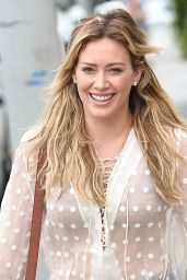 Hilary Duff Street Style - Out in West Hollywood, July 2015