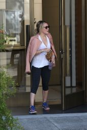 Hilary Duff Style - Shopping in Beverly Hills, July 2015