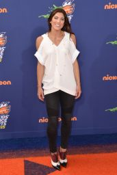 Hope Solo – 2015 Nickelodeon Kids' Choice Sports Awards in Los Angeles