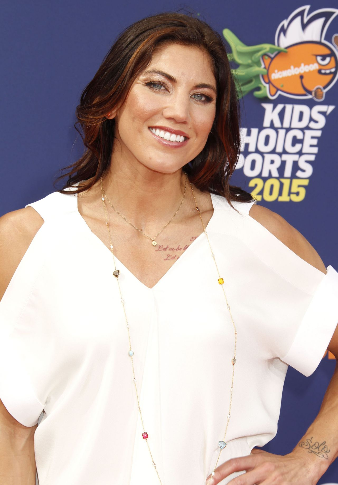 Hope Solo Ndash 2015 Nickelodeon Kids Rsquo Choice Sports Awards In