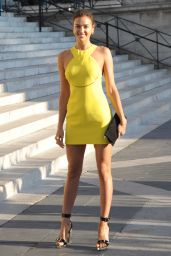 Irina Shayk - Atelier Versace Show - Paris Fashion Week, July 2015