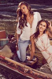 Irina Shayk & Gracie Carvalho - Bebe
