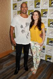 Ivana Baquero - The Shannara Chronicles Press Line at Comic Con in San Diego, July 2015