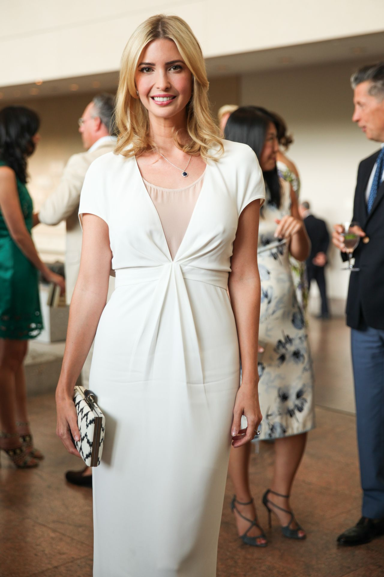 ivanka trump height weight hot white dress